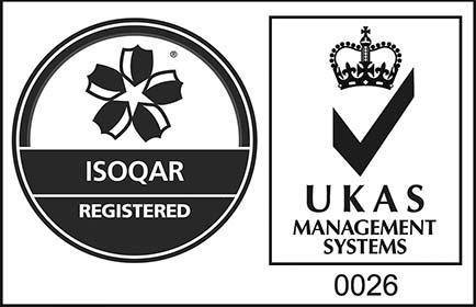 Certificate Number 14330 ISO 9001, ISO 14001, ISO 45001
