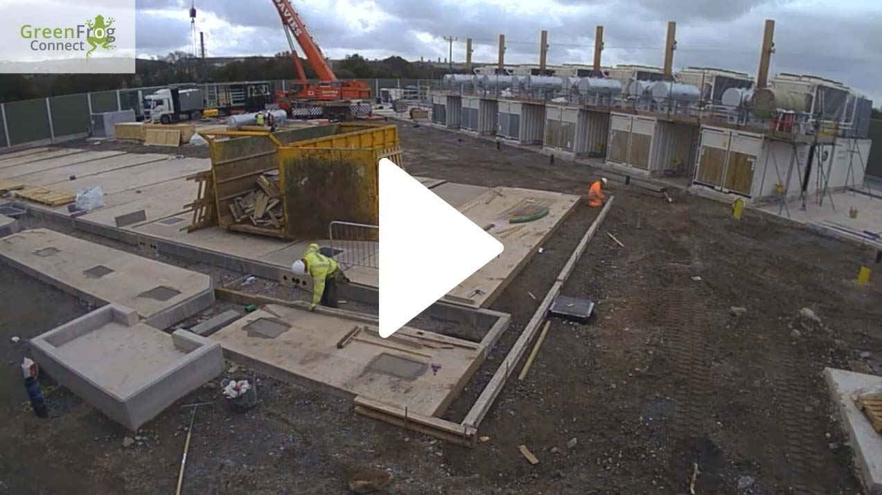 Time-lapse of Swansea West site build