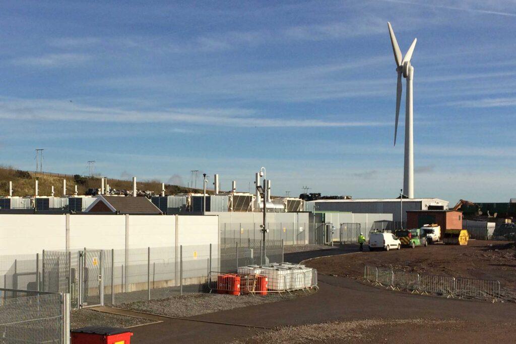 Dowlais STOR plant