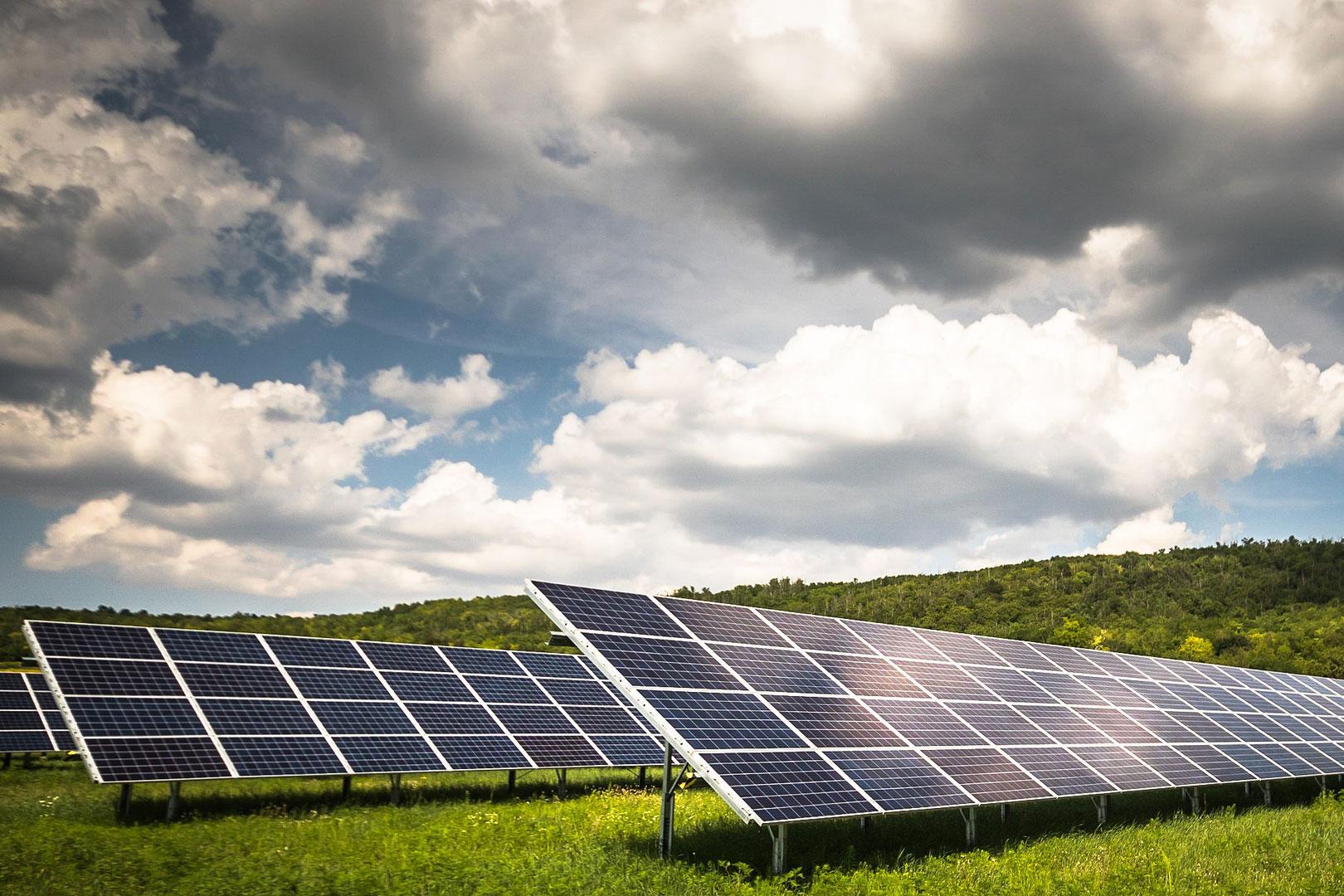 Solar Park at Fields Farm